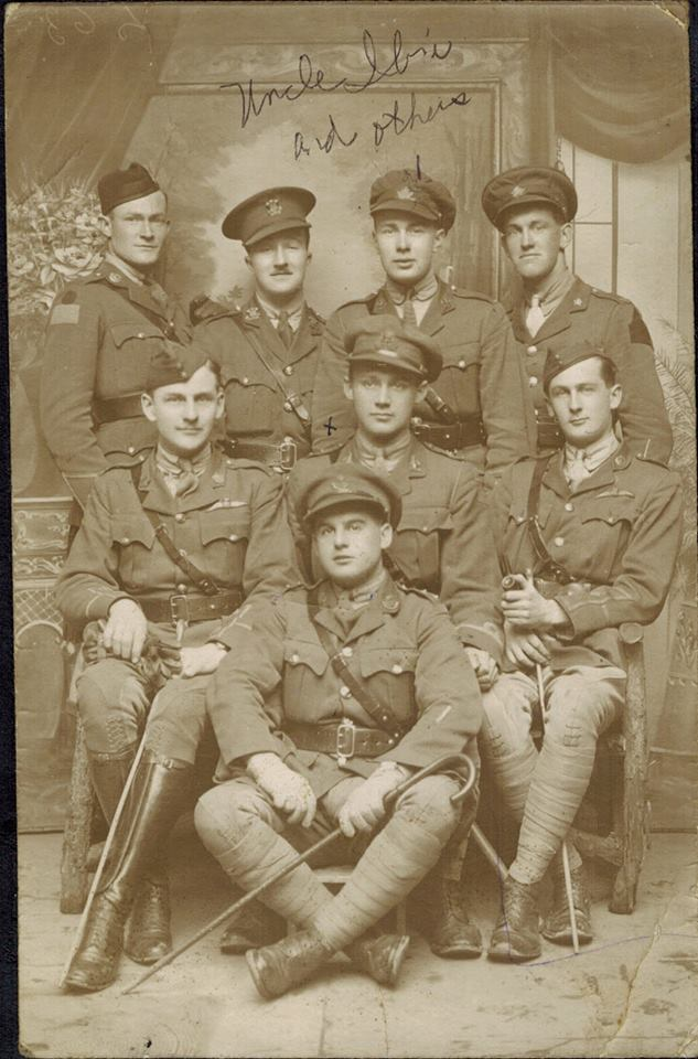 Group Photo– Ibri Burton Alkenbrack and Friends (Maybe from the 75th Battalion)