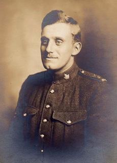 Photo of Stanley Penton– Portrait of Stanley Penton in uniform