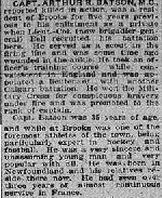 Newspaper Clipping– source Calgary Herald. September 19, 1918, page 13