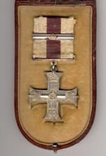 Military Cross– Military Cross awarded to Captain Arthur Batson, in its original case (right).