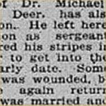 Press Clipping– source: Calgary Herald; September 20, 1918, page 11