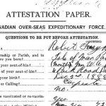 Attestation Paper (front)