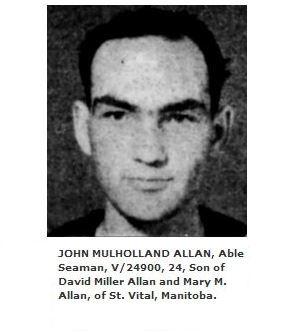 Photo of John Allan– Photo courtesy of Naval Museum of Manitoba