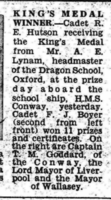 Newspaper Clipping– Submitted for the project, Operation Picture Me