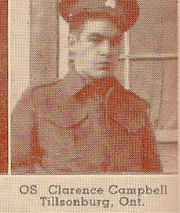Photo of Clarence Campbell
