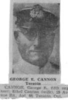 Photo of GEORGE E CANNON– Submitted for the project, Operation Picture Me