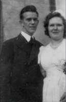 Photo of ALFRED ERNEST JOSEPH CLAYTON– Alfred and Olive on wedding day. Submitted for the project, Operation Picture Me