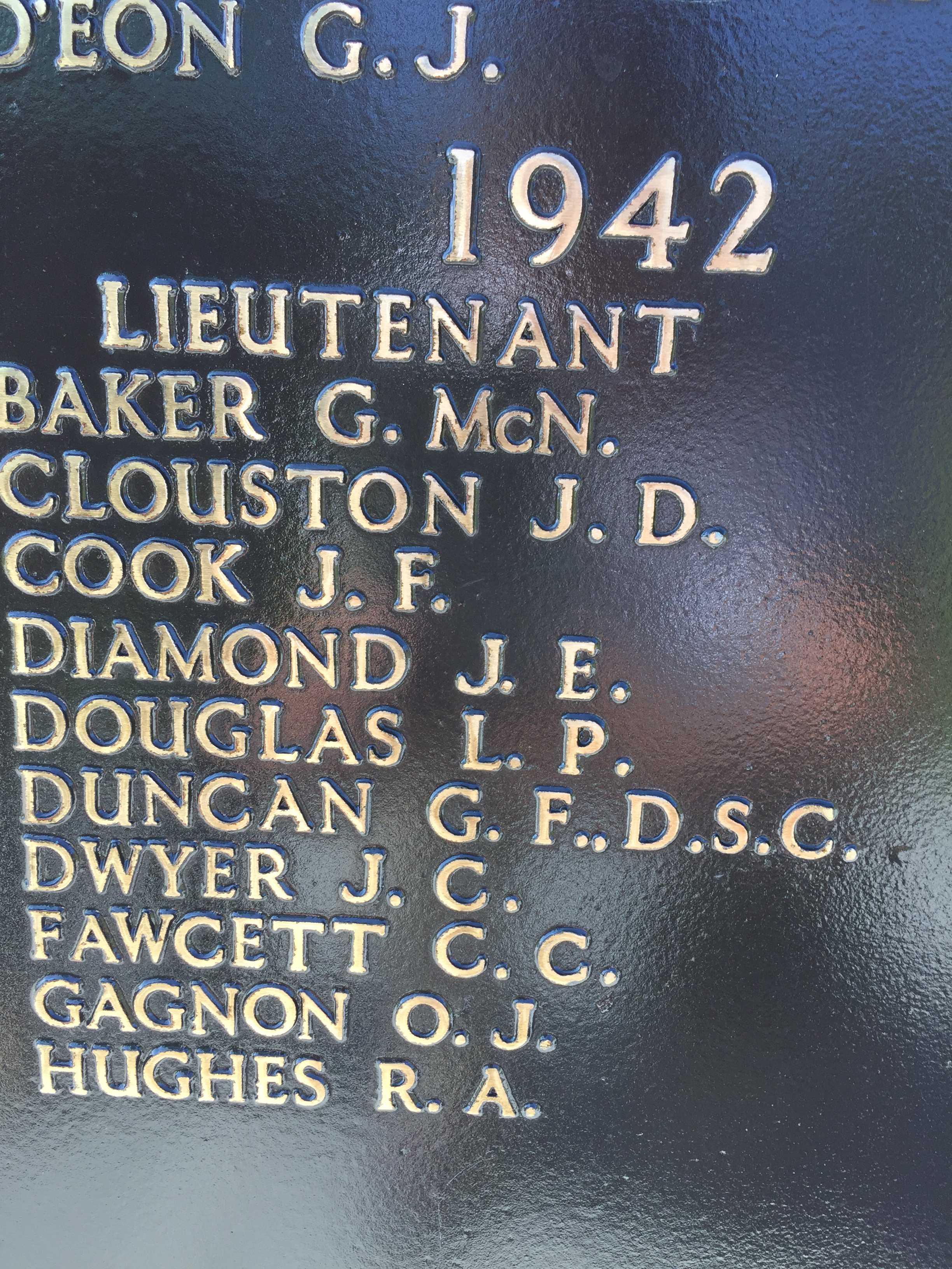 Memorial– Halifax Memorial, Point Pleasant Park, Halifax NS