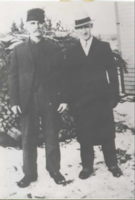 Photo of CARL HASTINGS COOLEN– Carl and his father Lindsay Coolen. Submitted for the project, Operation Picture Me