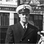 Photo of Joseph Alphonse Jean Paul Gauthier– Walking downtown Halifax