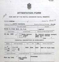 Attestation Form– Submitted for the project Operation Picture Me