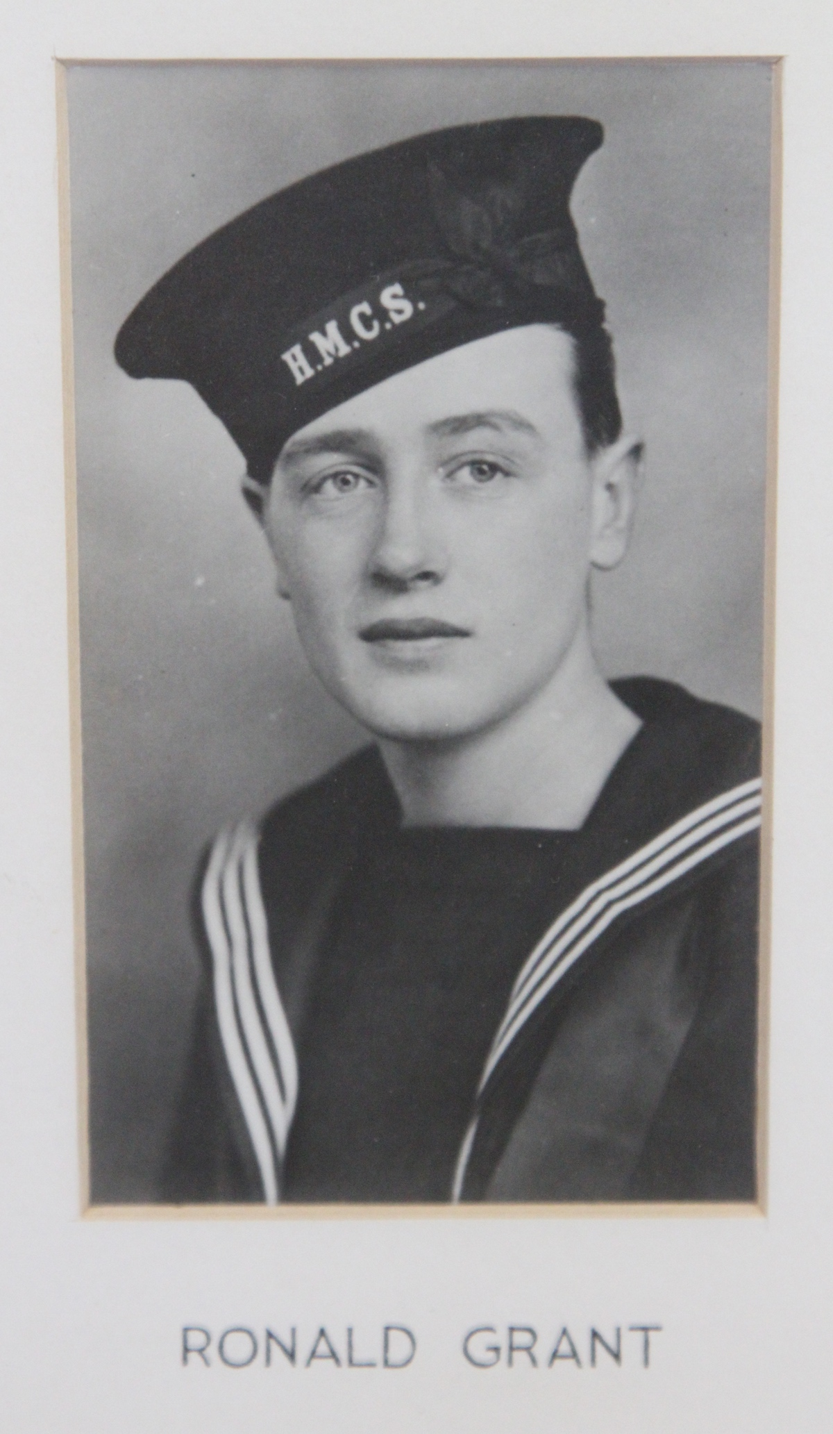 Photo of RONALD EARL GRANT– In memory of the students from the Vaughan Road Collegiate Institute  (Toronto) who went away to war and did not come home. Submitted for the project, Operation Picture Me