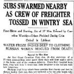 """Newspaper Clipping– Toronto Star """"Pages of the Past"""" online 1942, Jan. 19  p. 17  Part 1 of 2"""
