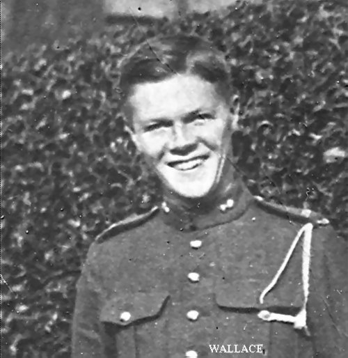 Photo of Wallace Alexander 1918