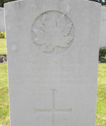 Grave Marker– Gravemarker Pte. J. Alberts.  Submitted by 15th bn Memorial Project Team.  Dileas Gu Brath