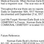 Biographie - page 3 – Biographie fournie gracieusement par le Smith Falls District Collegiate  suite à l¿initiative commémorative « Lest We Forget ».