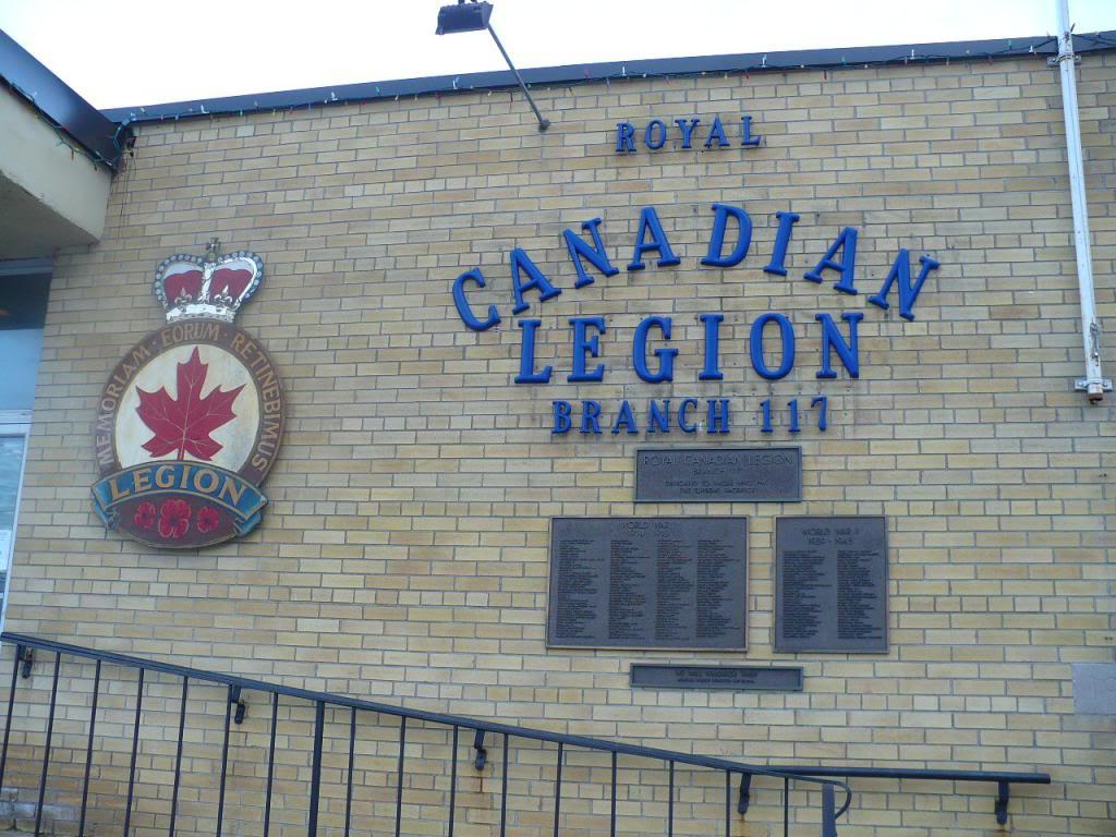 War Memorial– Royal Canadian Legion, Branch 117 in Parry Sound Memorial Plaques. Source: Ontario War Memorials site by Tim Laye.