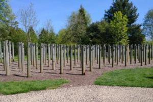 Memorial– Private Gustave Comté is also commemorated at the Shot at Dawn Memorial, National Memorial Arboretum, Staffordshire, UK - May 2019 … photo courtesy of Marg Liessens