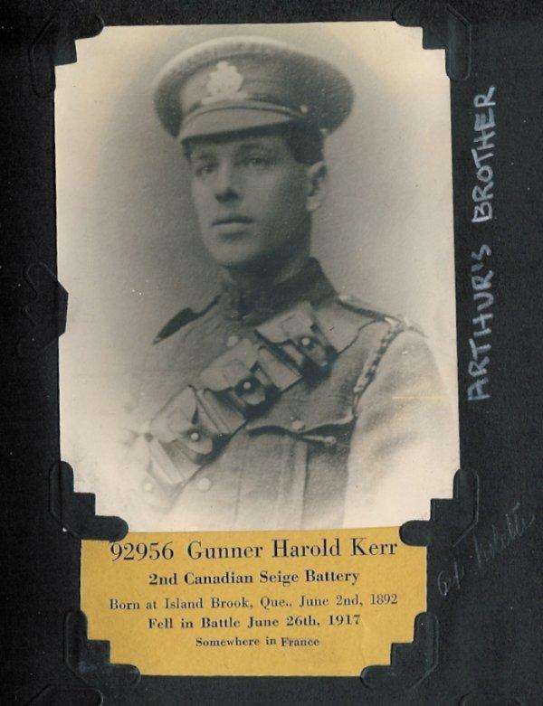 Photo of Harold Clifford Kerr (3)