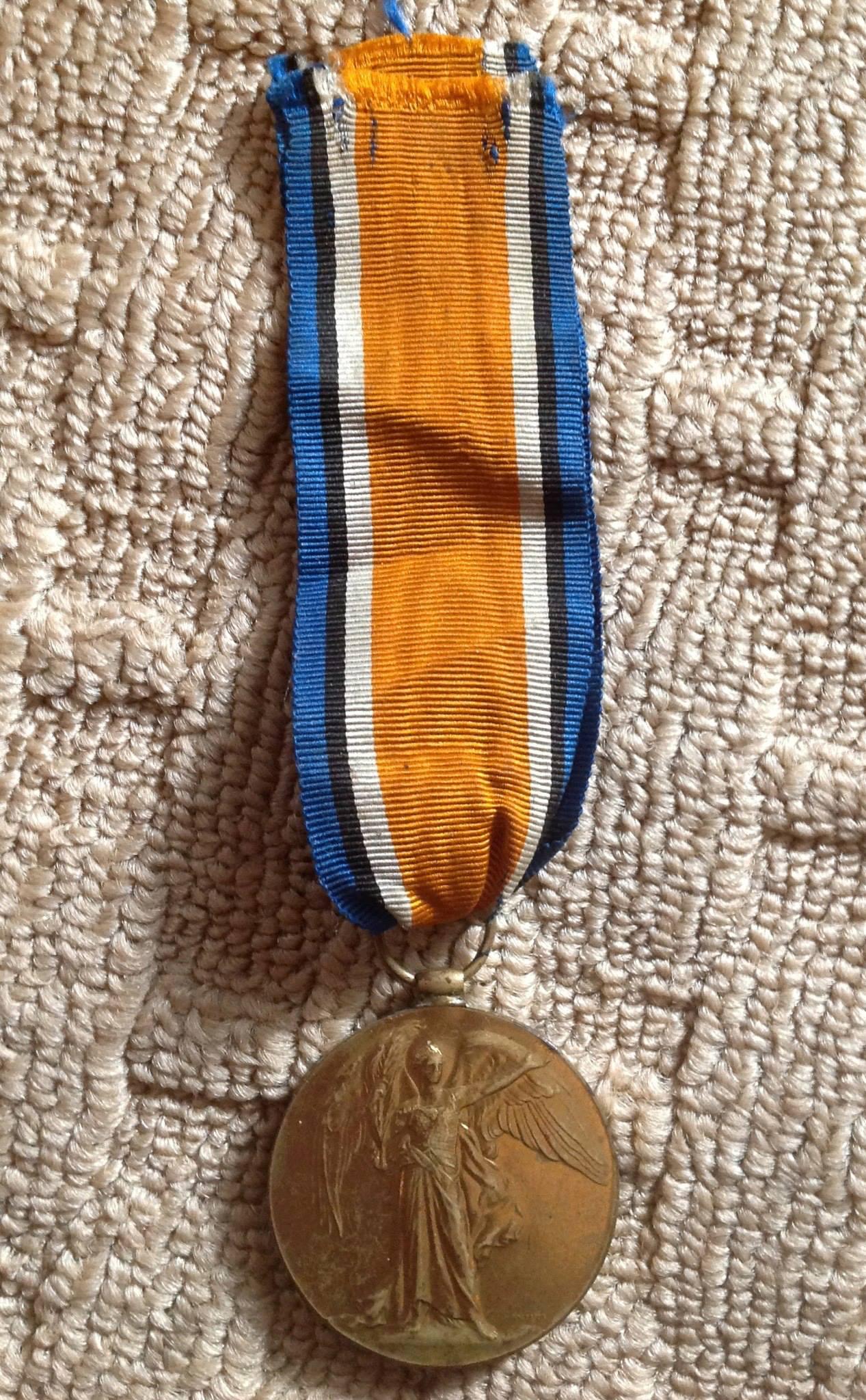 War Medal– GNR Harold Clifford Kerr - war medal