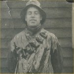Photo of Harold Clifford Kerr (2)– From an old Kerr family album...date inscribed next to this photo is 1917.