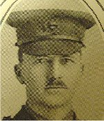 """Photo of Walter Wilton– University of Manitoba Roll of Honour 1914-1918.  Winnipeg, 1923. Roll of the Fallen (pg. 26) - """"WILTON, Walter Barron:  Phar. 1899; Enlisted 3-9-15; Pte. 45th Battn.; Transferred to 184th Battn.; Lieut.; Transferred to 27th Battn.; Service in France; Killed in Action 21-8-17."""""""