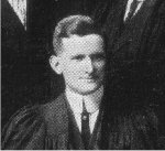 Photo of James Winslow– Torontonensis 1913 (University of Toronto Year Book), pg. 280.  Caption: O.A.C. REVIEW STAFF. J. H. Winslow, Editor-in-Chief.
