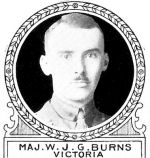 Photo of William Burns– From: The Varsity Magazine Supplement Fourth Edition 1918