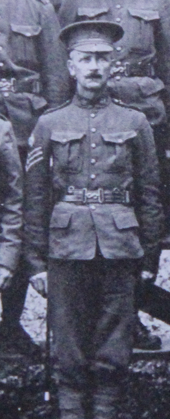Photo of Ernest Gibbs– Served with the 35th Battalion CEF. Submitted for the project, Operation: Picture Me