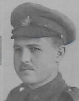 Photo of Thomas Edward Tilson– Pte Edwin Tilson, shown as George Edwin Tilson in the December 1918 edition of The Christmas Echo published in London Ontario
