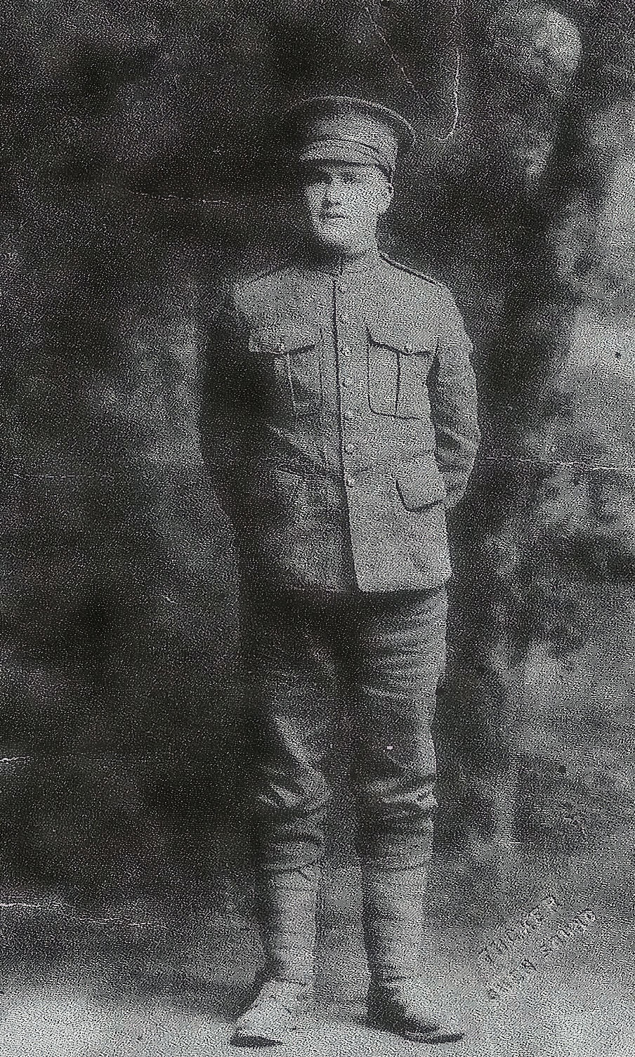 Photo of William Earl Foster– Brother of Private Robert Wellington Foster who was KIA on April 22, 1918 and brother of Sgt. Wilmer Alexander Foster who was KIA in WWII.