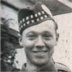 Photo of Edsel Herbert Allen– Landed in France 1940, and barely missed being trapped in France at the time of their surrender. Trained in England, served in Sicily and Italy.