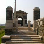 Entrance– Entrance to Cerisy Military Cemetery