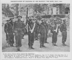 Photo of ERNEST FRANK CLARKE– From the Loyal Edmonton Regimental magazine the Fortyniner.  Submitted for the project, Operation Picture Me