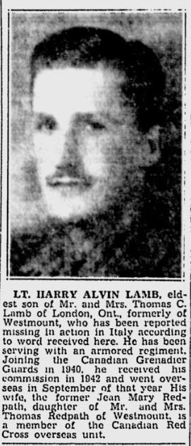 Obituary– Obituary - HARRY ALVIN LAMB