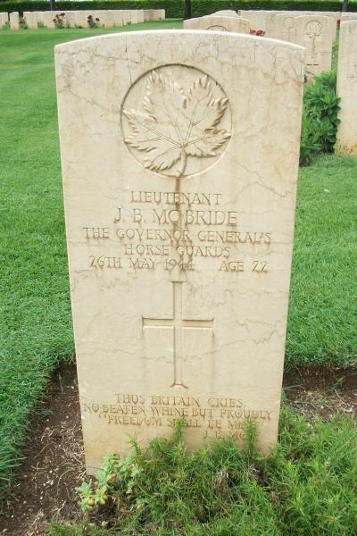 Pierre tombale – Pierre tombale - Cassino War