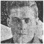 Coupure de presse – D'une collection de coupures de journaux (album), donnée à la Légion royale canadienne Bernard Croak VC filiale 003 par Shirley (Terrio) Green, à la mémoire de sa mère Olive (Newell) Terrio.