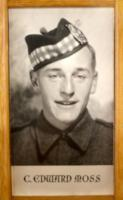 Photo of CHARLES EDWARD MOSS– In memory of the students of R H King Academy (formally Scarborough  Collegiate Institute) who went to war and did not come home. Submitted for the project Operation Picture Me.