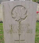 Grave Marker– The tombstone of John Francis Joseph Nelson.