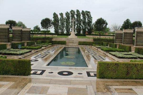 Cemetery– Cross of Sacrifice - Cassino War Cemetery - 2013