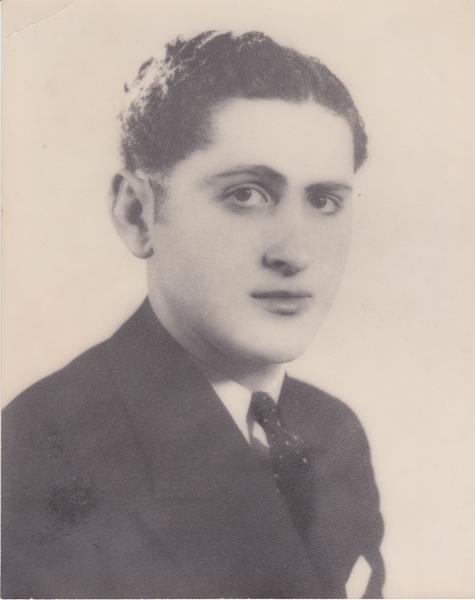 Photo of Mario Zecca– Mario Zecca taken somewhere around the age of 20 or so.