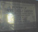 Memorial Plaque– Memorial Plaque St. Matthias, Halifax