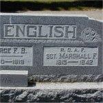Pierre tombale commémorative – Pierre tombale commémorative au cimetière de Virden, Virden (Manitoba).