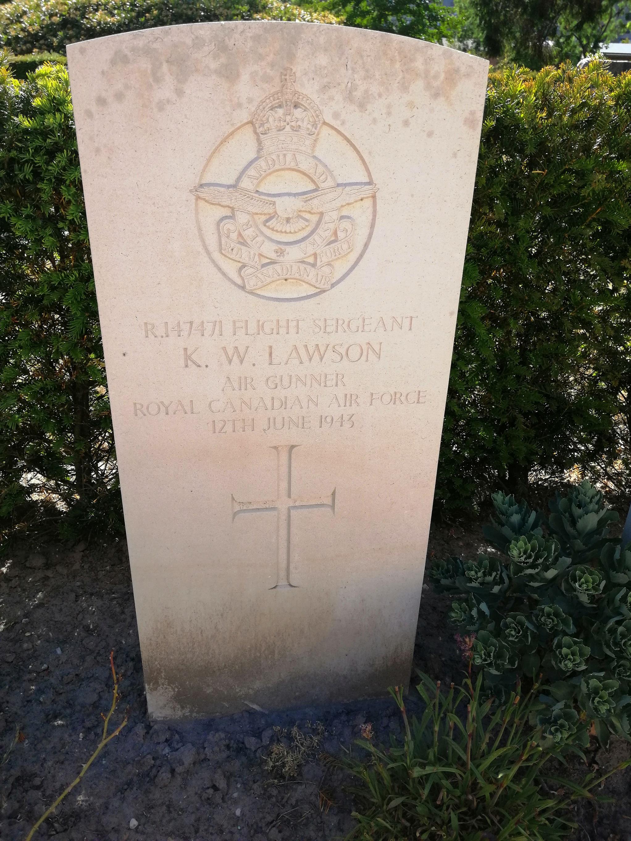 Grave marker– Gravestone at Woensel Cemetery.