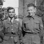Photo de Frank James Belanger – Frank (Frances) James Belanger (à la gauche).
