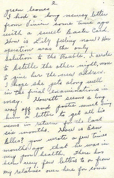 Letter, Page 2