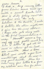 Letter, Page 2– Vincent MacCausland - last letter page 2 of 4