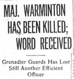 Newspaper Clipping 2– This article appeared on the front page of The Montreal Daily Star, May 22, 1915