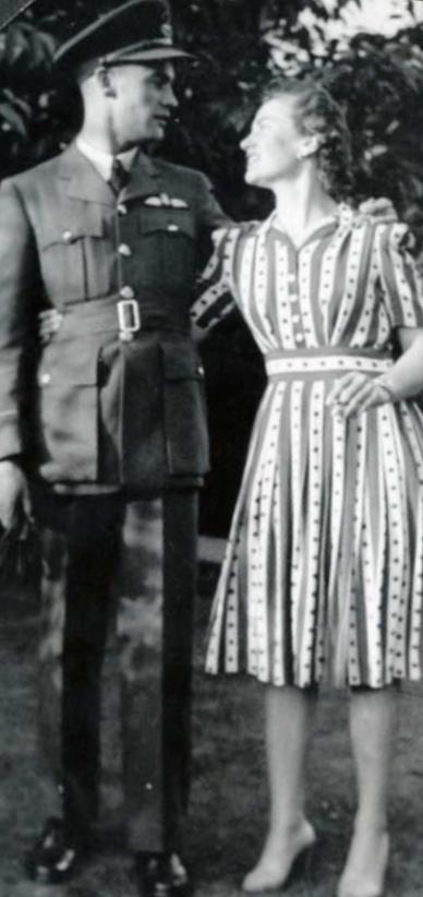 Photo of John Bond and Aileen Bond