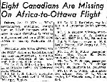 Newspaper Clipping– Source:  Globe and Mail, December 22, 1944